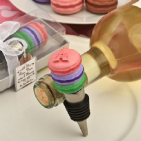 Deliciously-Different Macaroon Wine Bottle Stopper